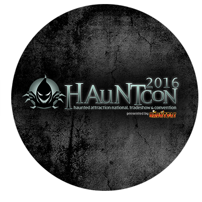 HAuNTcon Badge for the Annual Haunted Convention