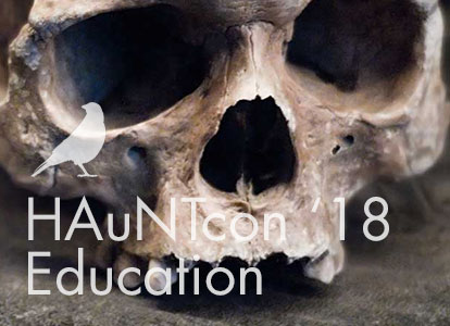 CAN'T MISS HAUNT EDUCATION AT HAUNTCON 2018!